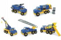 WADER Auto middle Truck plast 42-49cm 5 druhů Wader
