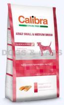Calibra Dog Grain Free Adult Small/Medium Salmon 24 kg +