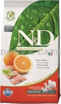 N&D Grain Free DOG Adult Fish & Orange 24 kg