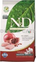 N&D Grain Free DOG Adult Chicken & Pomegranate 5 kg