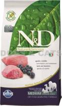 N&D Grain Free DOG Adult Lamb & Blueberry 5 kg