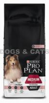 PRO PLAN Dog ADULT Medium Sensitive Skin 28 kg +