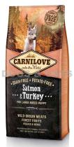 Carnilove Salmon & Turkey for Large Breed PUPPIES 12 kg