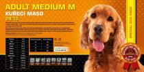 ADULT Medium M - kuřecí maso 24/13 Váha: 15 Kg
