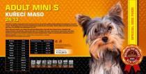 ADULT Mini S - Kuřecí maso 24/13 Váha: 4,5 Kg