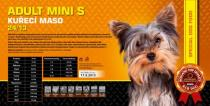 ADULT Mini S - Kuřecí maso 24/13 4,5 Kg