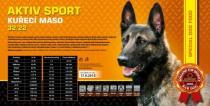 AKTIV sport - kuřecí maso 32/22 Váha: 15 Kg