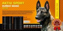 AKTIV sport - kuřecí maso 32/22 4,5 Kg