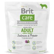 Brit Care Dog Grain-free Adult LB Salmon & Potato Váha: 1.0 Kg