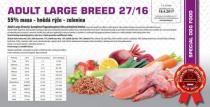 Hypoalergenní ADULT Large Breed 27/16 12+2kg