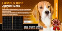 LAMB & RICE - jehněčí maso 24/14 Váha: 15 Kg