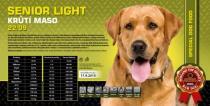 SENIOR & LIGHT - krůtí maso 22/09 4,5 Kg