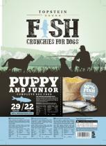 Topstein Fish Crunchies Puppy/Junior 15 kg