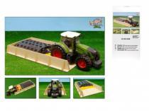 Mikro Trading Silo dřevo 60x30x6cm 1:16