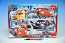 DINO Dino Puzzle Cars na ledě 4x54 dílků