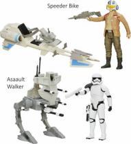 HASBRO Hasbro Star Wars Epizoda 7 Hrdinská figurka a vozidlo