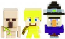 MATTEL Minecraft 3ks minifigurka