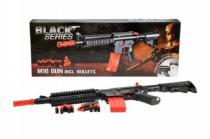 TEDDIES Pistole Black series M16 včetně nábojů