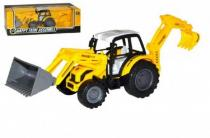WIKY Traktor nakladač bagr 29cm na setrvačník v krabici