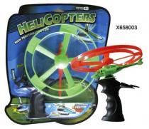 MAC TOYS Vystřelovací helikoptéra