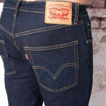 Levis Mens 506 Straight Leg Blue Rinse Jeans Denim