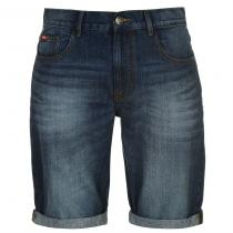 Lee Cooper Regular Denim Shorts Mid Wash