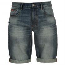 Lee Cooper Regular Denim Shorts Vintage Wash