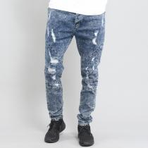 Cayler & Sons ALLDD Paneled Denim Pants blue