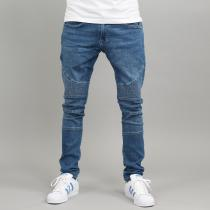 Urban Classics Slim Fit Biker blue washed