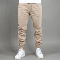 Urban Classics Stretch Twill Jogging béžové