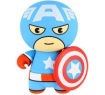 Lazerbuilt Marvel Kawaii 2600 mAh Captain America