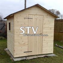 STV Dřevostavby s.r.o. Dřevěné domky 2x2m