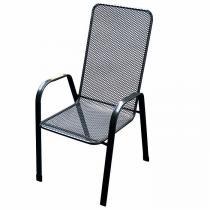 Deokork židle Sága vysoká (kov)