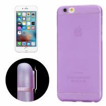 AppleKing ultra tenký plastový kryt pro iPhone 6/6S s ochranou zadní kamery fialový
