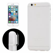 AppleKing tenký plastový kryt pro iPhone 6 Plus/6S Plus s ochranou čočky průhledný