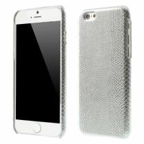 AppleKing kryt s designem ještěří kůže na Apple iPhone 6/6S stříbrný