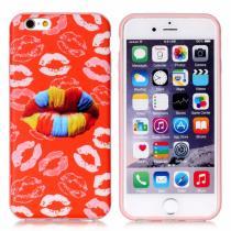 AppleKing ochranný kryt na Apple iPhone 6/6S barevné rty