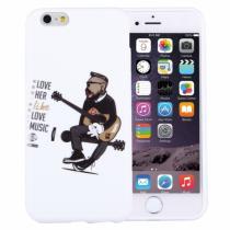 AppleKing plastový ochranný kryt/obal pro Apple iPhone 6S/6 kytarista