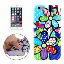 AppleKing gumový kryt pro Apple iPhone 6/6S květiny