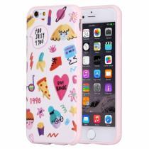 AppleKing plastový ochranný kryt/obal s barevnými obrázky pro Apple iPhone 6/6S