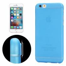 AppleKing tenký plastový kryt pro iPhone 6 Plus/6S Plus s ochranou čočky modrý