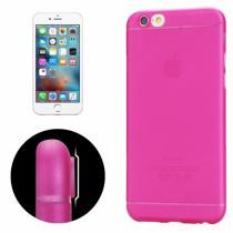 AppleKing tenký plastový kryt pro iPhone 6 Plus/6S Plus s ochranou čočky růžový
