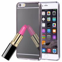 AppleKing zrcadlový ochranný kryt pro Apple iPhone 6 Plus/6S Plus šedý