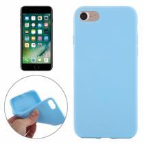 AppleKing gumový hladký kryt pro Apple iPhone 7 nebesky modré
