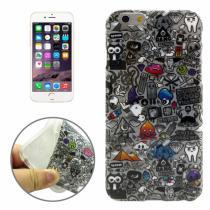 AppleKing gumový kryt s průhledným rámečkem pro Apple iPhone 6/6S obrázky