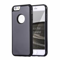 AppleKing magický antigravitační samolepící kryt na Apple iPhone 6/6S vhodný pro selfie černý