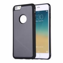 AppleKing magický antigravitační samolepící kryt na Apple iPhone 6 Plus/6S Plus vhodný pro selfie černý
