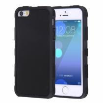 AppleKing magický antigravitační samolepící kryt na Apple iPhone 5/5S/SE vhodný pro selfie černý