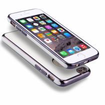 AppleKing obal na iPhone 6 Plus/6S Plus s 360° ochranou a lesklými hranami chrání přední
