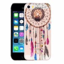 AppleKing kryt na iPhone 5/5S/SE výtvarné zpracování indiánský vzor